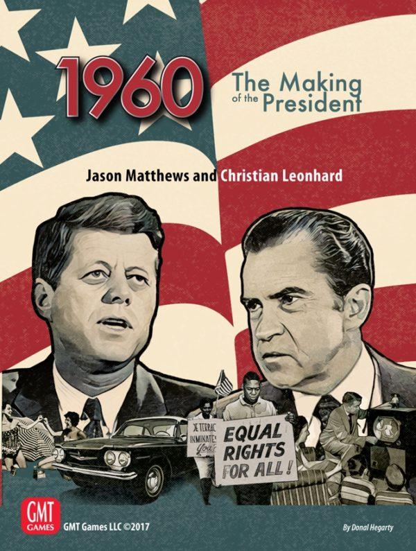 Gmt games strategy cold war John F. Kennedy Richard M. Nixon