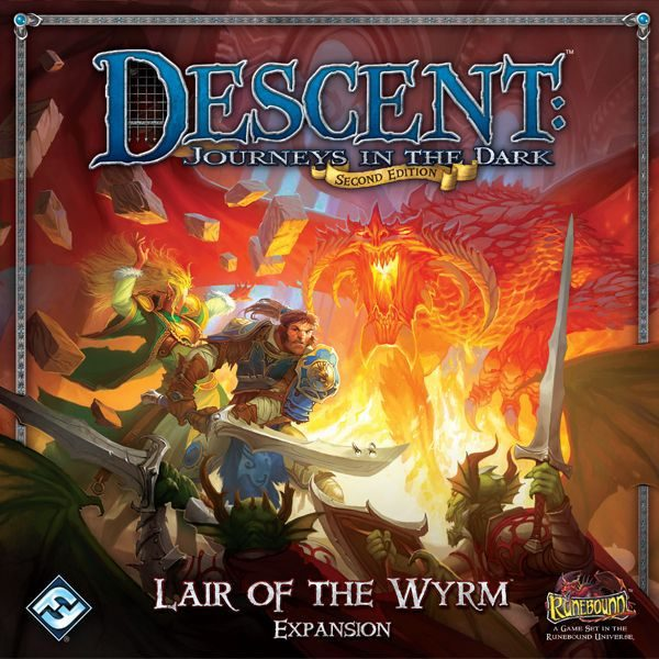 Descent expansion, Fantasy, miniatures