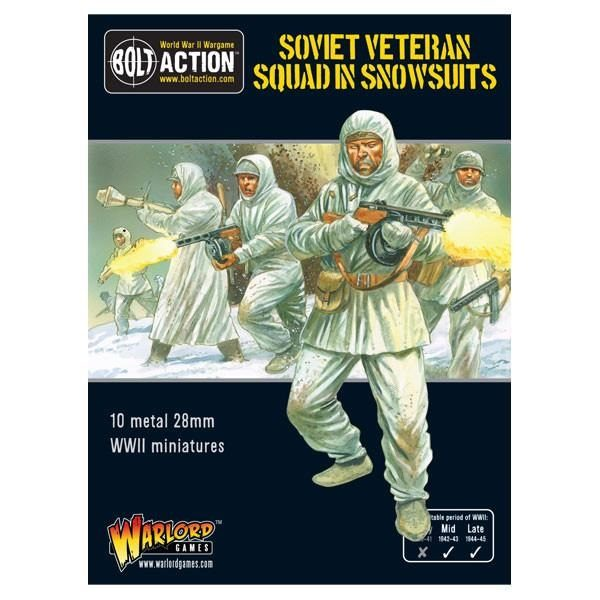 bolt action warlord ww2 world war 2 miniatures soviet