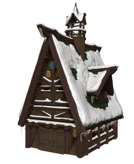 Icewind Dale Ten Towns Papercraft Set